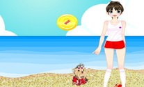 Dress-up-game-with-a-mistress-and-her-dog