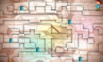 Platform-game-with-a-dog-in-a-maze