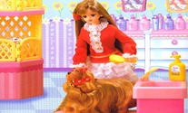 Puzzle-game-with-barbie-and-her-dog